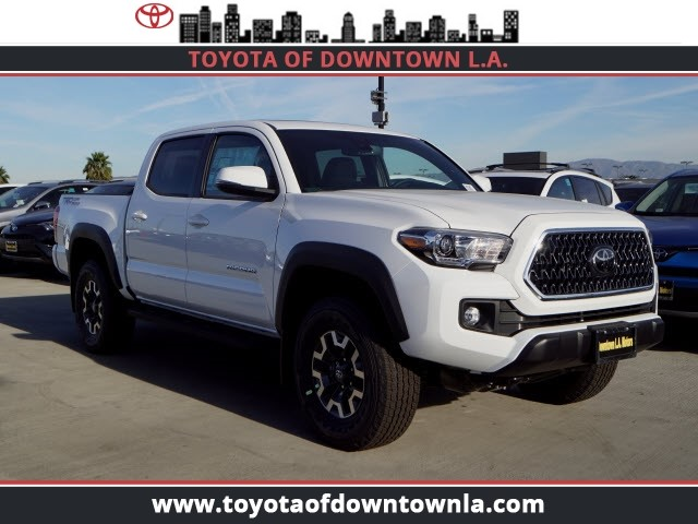 New 2019 Toyota Tacoma Trd Off Road Double Cab In Los Angeles