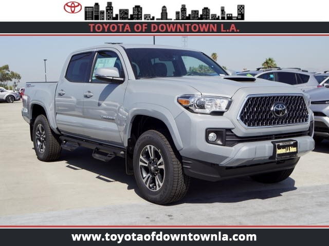 2019 Toyota Tacoma >> New 2019 Toyota Tacoma Trd Sport Double Cab In Los Angeles T9079304