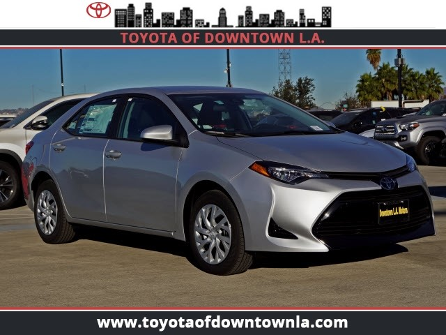 New 2019 Toyota Corolla Le 4dr Car In Los Angeles T9890742 Toyota