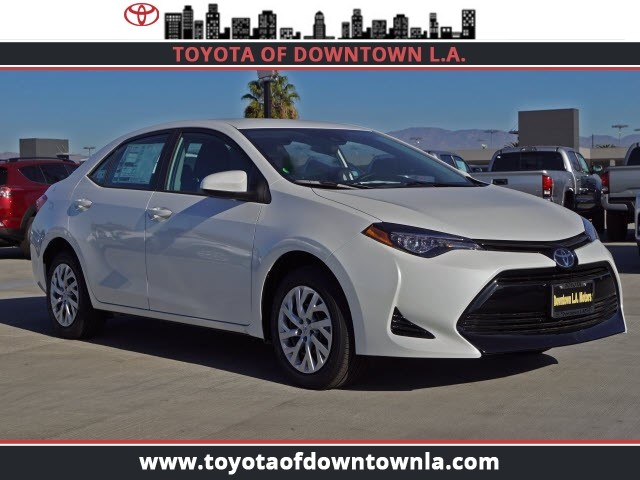 New 2019 Toyota Corolla Le 4dr Car In Los Angeles T9903053 Toyota
