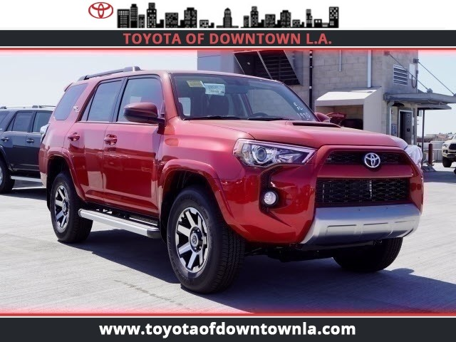 4runner Off Road >> New 2019 Toyota 4runner Trd Off Road Sport Utility In Los Angeles