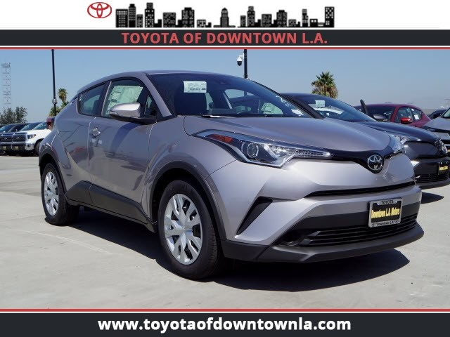New 2019 Toyota C Hr Le Sport Utility In Los Angeles T9030349
