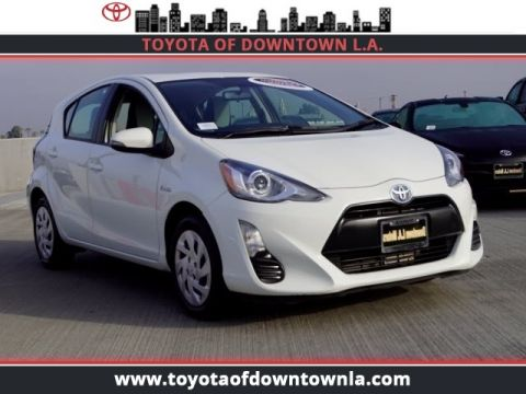 Certified Pre Owned 2016 Toyota Prius C Std
