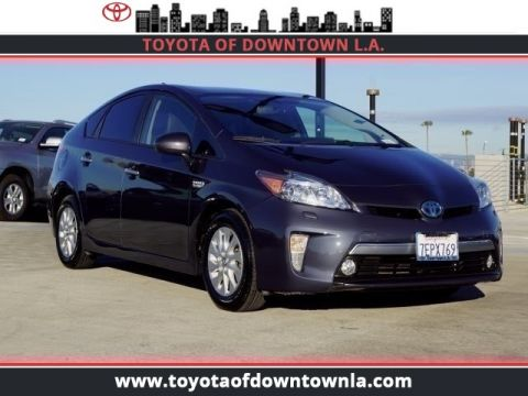 Pre Owned 2017 Toyota Prius Plug In Advanced