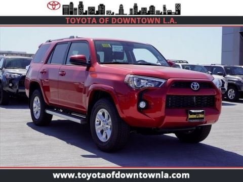 Toyota Forerunner For Sale >> New Toyota 4runner For Sale 8 In Stock At Toyota Of Downtown La